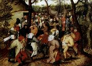 Pieter Bruegel Rustic Wedding oil painting reproduction